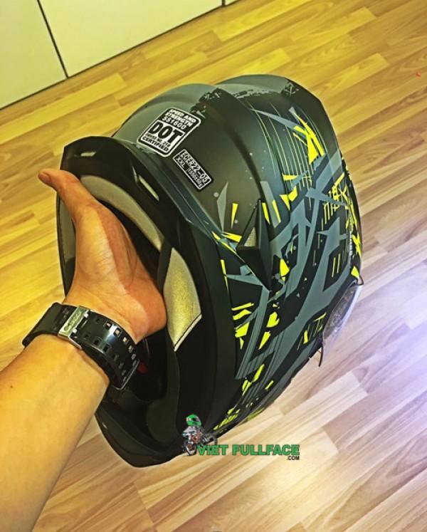 Mũ Bảo Hiểm Speed&Strength; SS1600  (2kính) CHUẨN DOT