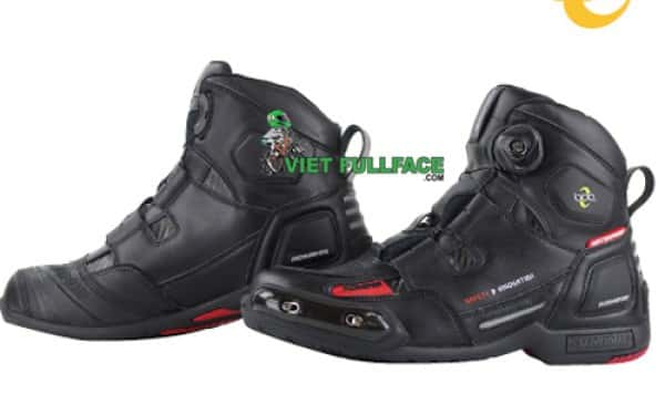 Giày Mortor Komine -  BK-076 Waterproof Protect Boa Riding Sport