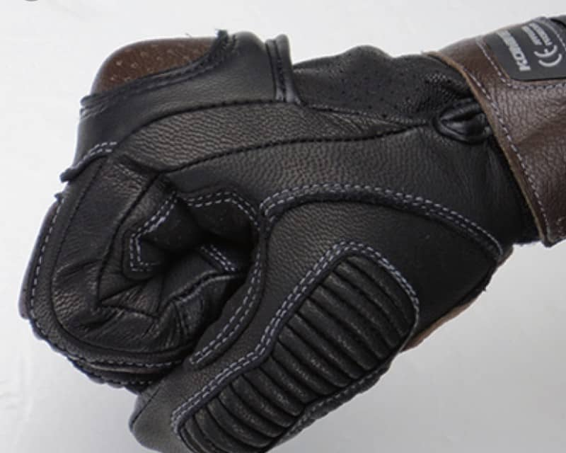Găng Tay Komine - GK217 CE protect Leather Gloves