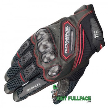 Găng tay Komine -  GK167 Carbon Protect Mesh Gloves