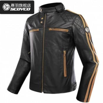 Áo Giáp Da Scoyco JK68_Leather Jacket